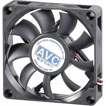 PC fan AVC F7015 (W x H x D) 70 x 70 x 15 mm