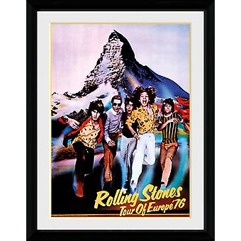 Rolling Stones Tour 76 Collector Print