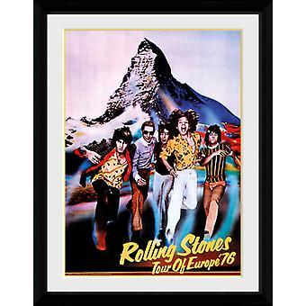 Rolling Stones Tour 76 Sammler-Print