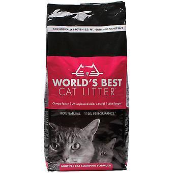 Verdens bedste flere kattegrus sammenklumpning formel 6,35 kg