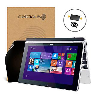 Celicious Privacy Acer Aspire Switch 11 V SW3-173 2-Way Visual Black Out Screen Protector