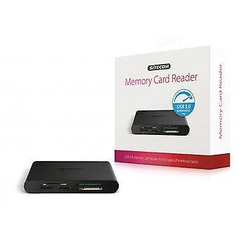Sitecom Card Reader all-in-One USB 3.0 Black