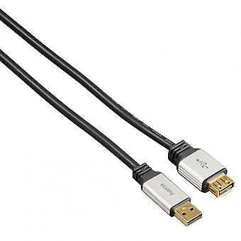 HAMA Cable Extension Cord. USB 1, 8 m PC