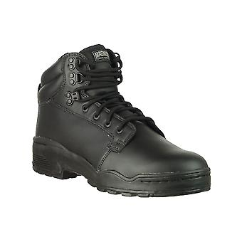 Magnum CEN 11891 Patrol Unisex Boots Black Leather Non Slip Sole Footwear Shoes