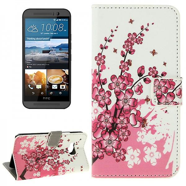 Cover wallet pattern 6 for HTC one 3 M9 2015