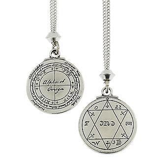 A mano buona salute magico talismano peltro potenza catena pendente ~ grande prosperità ~ 22 pollici catena