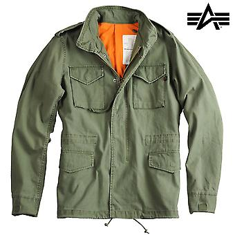 Alpha industries jacket vintage M-65 w / o liner