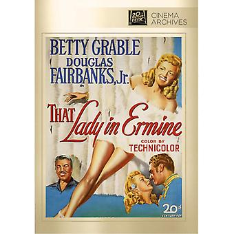 That Lady in Ermine [DVD] USA import