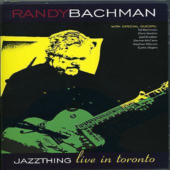 Randy Bachman - Jazz ting-Live i Toronto (Pal/Region 0) [DVD] USA importerer