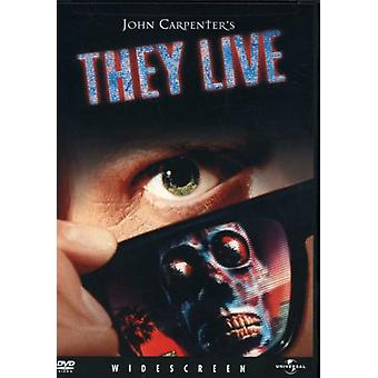 They Live [DVD] USA import