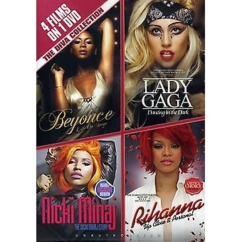 Diva samling - Diva samling [DVD] USA importerer