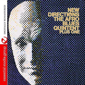 Afro Blues Quintet Plus één - nieuwe richtingen van de Afro Blues Quintet Plus One [CD] VS importeren