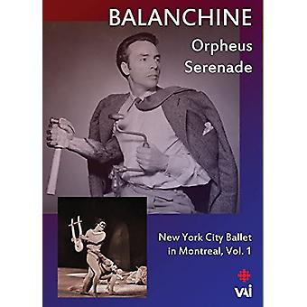 Balanchine: New York City Ballet in Montreal 1 [DVD] USA import