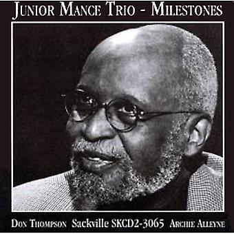 Junior Mance - milepæle [CD] USA importerer