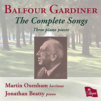 Balfour Gardiner - Balfour Gardiner: importation des USA de l'intégrale des mélodies [CD]