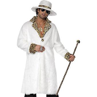 Pimp Daddy kostyme halliker Pimpkostüm hvite redneck