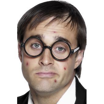 Schoolboy glasses, black