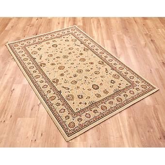 Noble Art 6529-190 Ivoor met goud en beige design en viscose accenten Rectangle Rugs traditionele tapijten