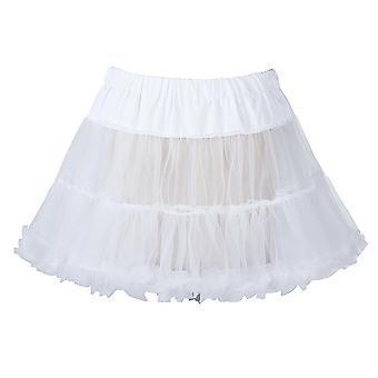 18「50 年代レトロなアンスコ スイング ビンテージ ミニ ファンシー純スカート ペチコート