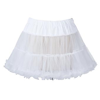 "18 ""50s retro underkjol Swing Vintage underkjol Fancy netto minikjolen"