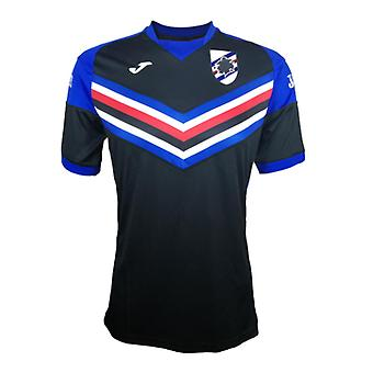 2017-2018 Sampdoria Joma Training Shirt (Black)