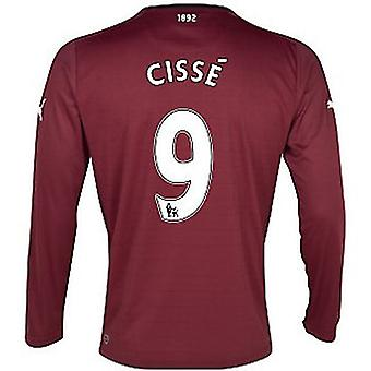 2012-13 Newcastle Long Sleeve Away Shirt (Cisse 9)