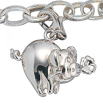 Single earrings-925 /-s lucky pig luck piggy silver of charms silver