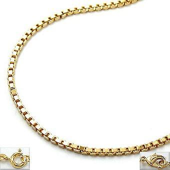 AMD Venetians necklace gold plated chain, Venetians, gold-plated,