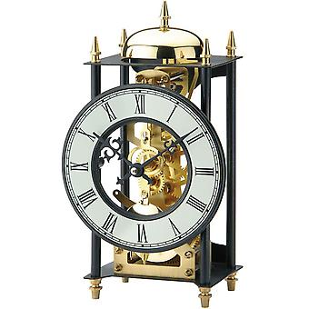 nostalgic clock nostalgia table clock metal casing painted black