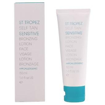 St.Tropez Self Tan følsomme Brunering Face Lotion 50 ml