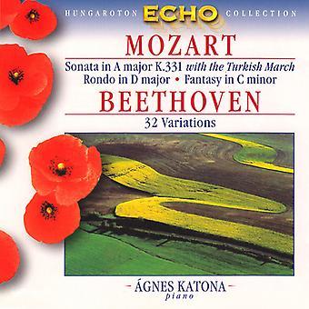 Mozart, Wolfgang Amadeus/Beethoven, Ludwig Van - Symphonies: Mercury the Bear the Surprise [CD] USA import