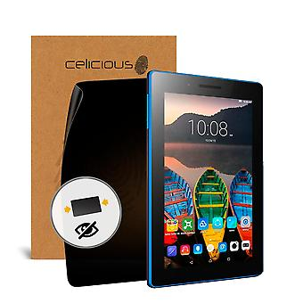 Celicious Privacy Lenovo Tab3 7 Essential 2-Way Visual Black Out Screen Protector