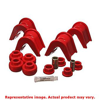 Energie Suspension unabhängige Rear Suspension Buchse Set 4.7105R rot passt: FORD