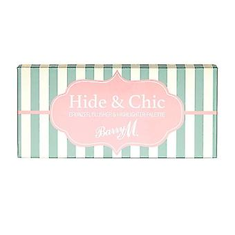 Barry M Barry M Hide & Chic Bronzer,Blush And Highlighter Palette