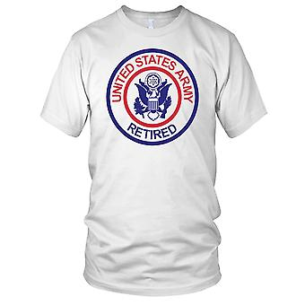 US Army Retired Ladies T Shirt
