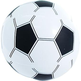 12 Inflatable Beach Ball Style Footballs 35cm - 315-501