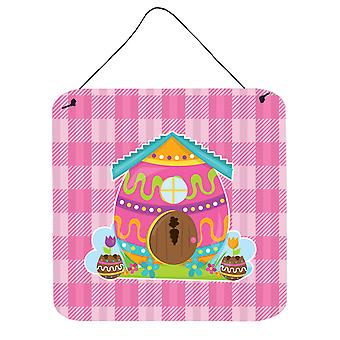 Easter Rabbit's House Wall or Door Hanging Prints