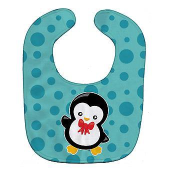 キャロラインズ宝物 BB8943BIB クリスマス Penquin 赤ちゃんよだれかけ