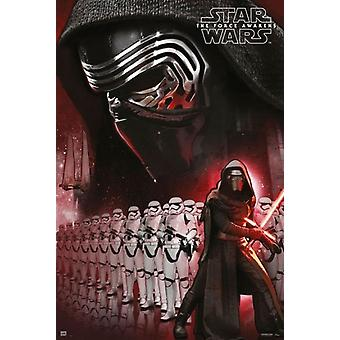 Star Wars The Force Awakens Kylo Ren Poster Poster Print