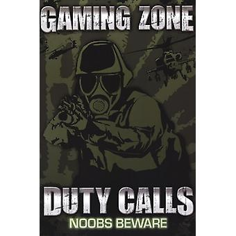 Gaming Zone - Duty Calls Poster Poster Print