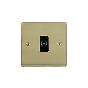 Hamilton Litestat Cheriton Victorian Polished Brass 1g Non-Isolated TV 1in/1out BL