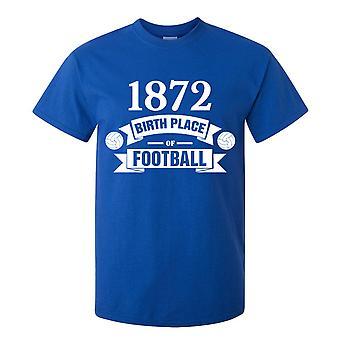Rangers fødslen af fodbold T-shirt (blå)
