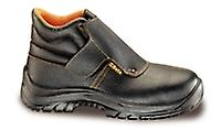 7245B 44 Beta Size 10/44 Lace-up Full-grain Leather Ankle Shoe Waterproof
