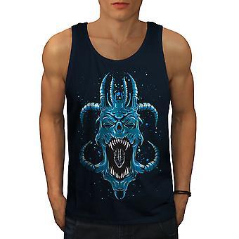 Satanás Horror Fantasy NavyTank los mejores hombres de azul | Wellcoda