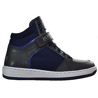 Hugo Boss Kids Hugo Boss Navy Blue High Tops