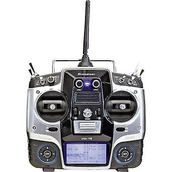 Graupner MX-16 Handheld RC 2,4 GHz No. of channels: 8