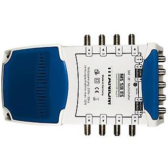 SAT multiswitch Smart MS 5/8 ES Inputs (multiswitches): 5 (4 SAT/1 terrestrial