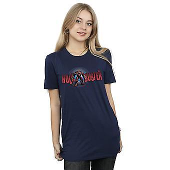 Avengers Women's Infinity War Hulkbuster 2.0 Boyfriend Fit T-Shirt