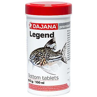 Dajana Legend Pastillas de Fondo 100 ml (Fish , Food , Warm Water)