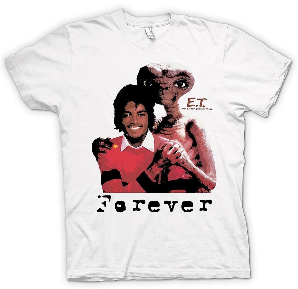 Womens T-shirt - Et Michael Jackson - Forever Alien